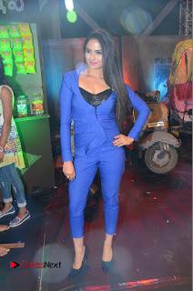 Actress Naina Ganguly Stills in Blue Dress at RGV Shiva to Vangaveeti Event  0040.JPG