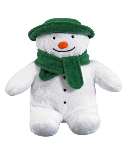 Christmas Eve Box Ideas for a One Year Old  - The Snowman Soft Toy for Babies