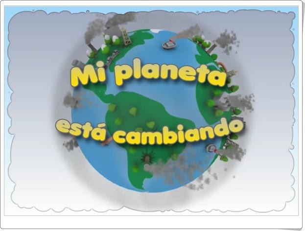"""Día Mundial del Medio Ambiente (5 de junio): Juego """"Mi planeta está cambiando"""""""