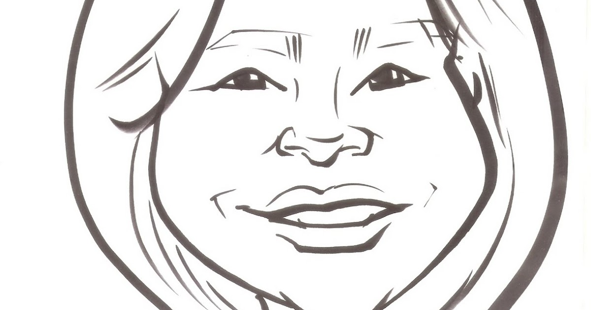 Lily Lee: Caricature of me in school