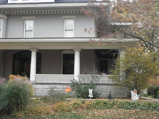 casa americana ad Halloween