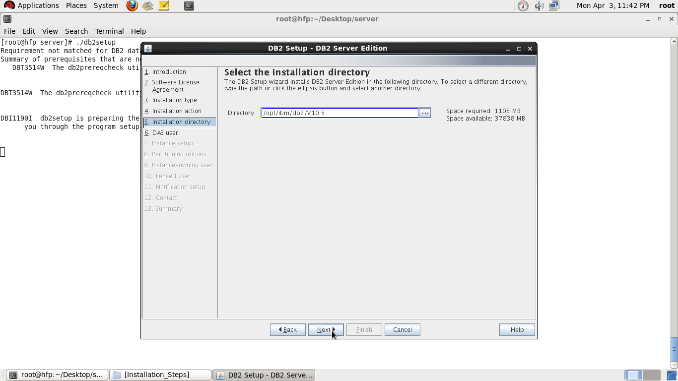 Step by Step installation of DB2 V10 5 on Linux ~ Vinay's
