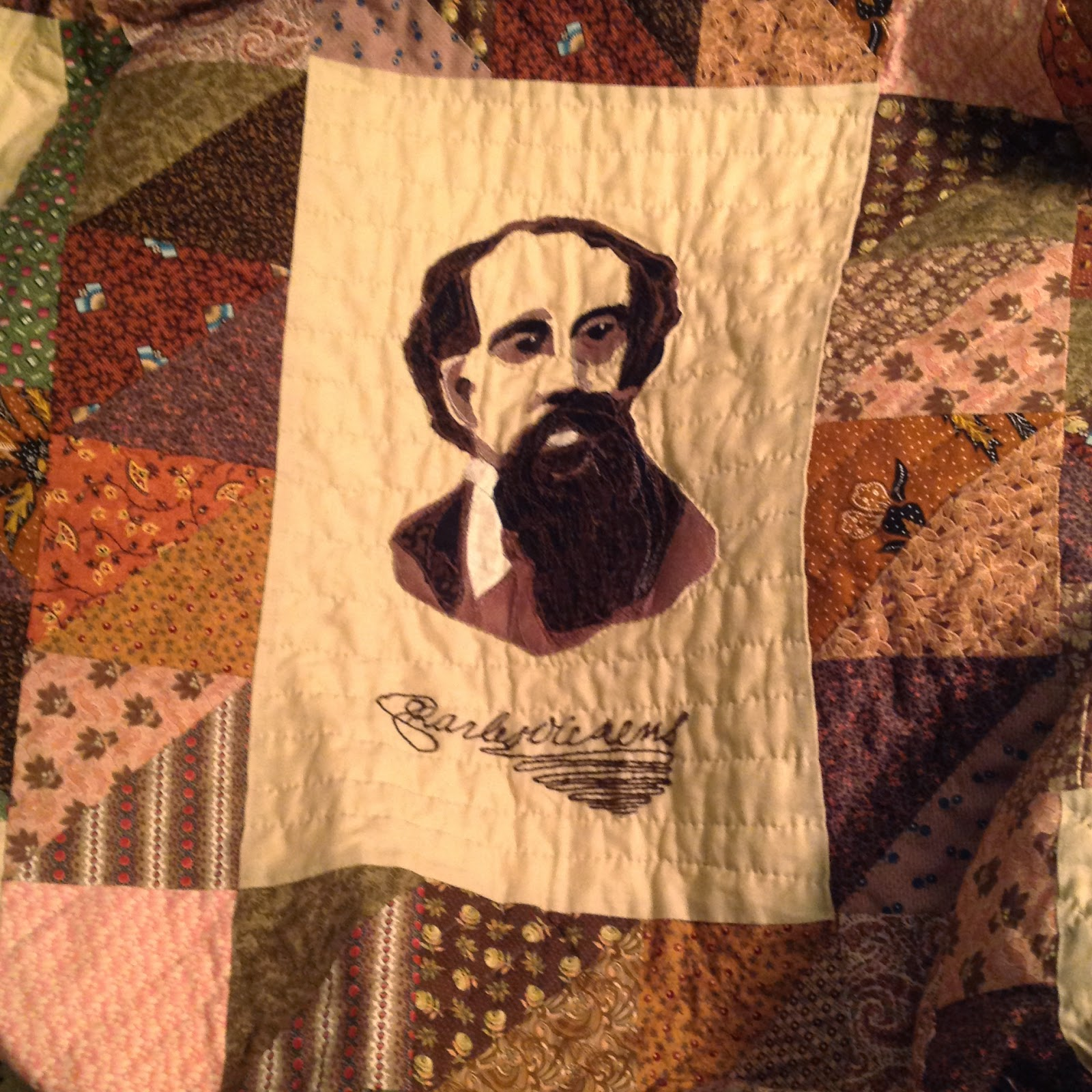 The Literate Quilter Resistance Writer Charles Dickens