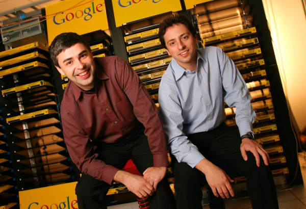 Sergey brin and lawrence page