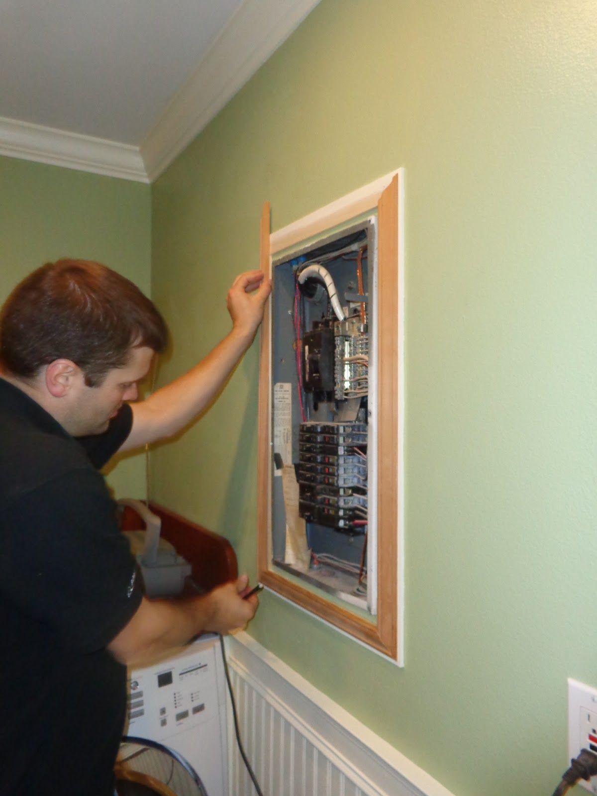 The Smiths  Laundry Room Circuit Breaker Panel
