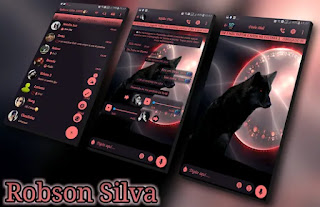 Incandescent Wolf Theme For GBWhatsApp By Robson