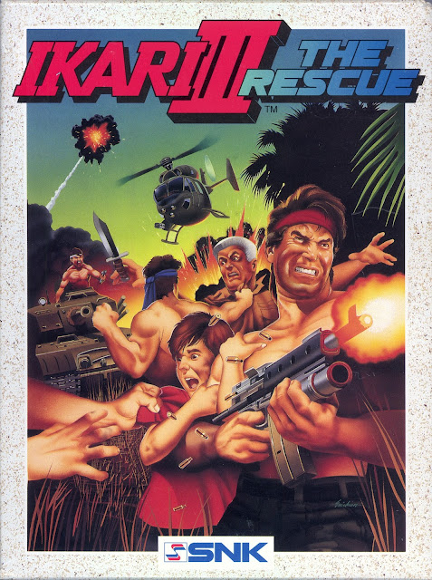 THE BADDEST of SNK's 'IKARI WARRIORS III The RESCUE' THAT NOBODY EVER SAW!!!