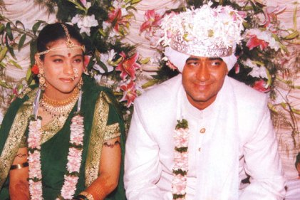 Kajol Devgan at wedding