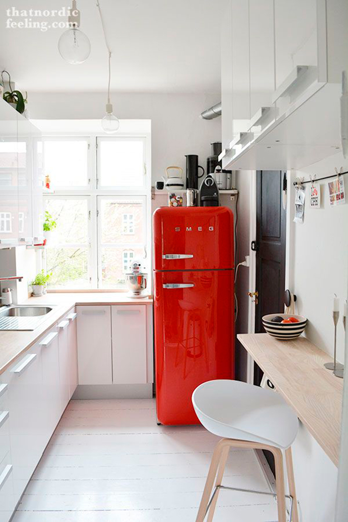 como decorar y aprovechar cocinas pequeas