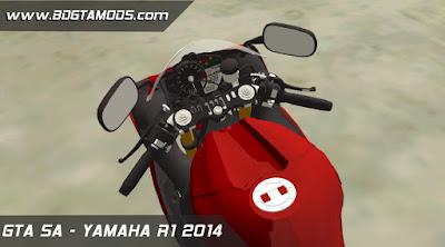 GTA SA - YAMAHA R1 2014 3