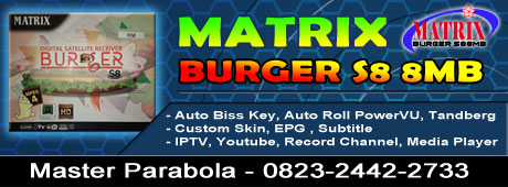 Receiver GX6605S Matrix Burger S8 8MB