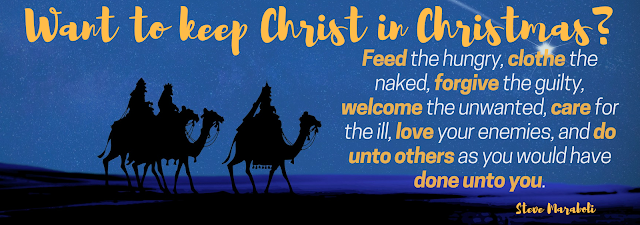Want to Keep Christ in Christmas? (quote)