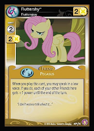 My Little Pony Fluttershy, Flutterguy Absolute Discord CCG Card