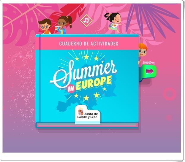 """""""Summer in Europe"""" (Juegos de familiarización con Europa)"""