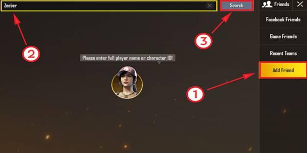 Cara Membuat Squad Di PUBG Mobile Android 1
