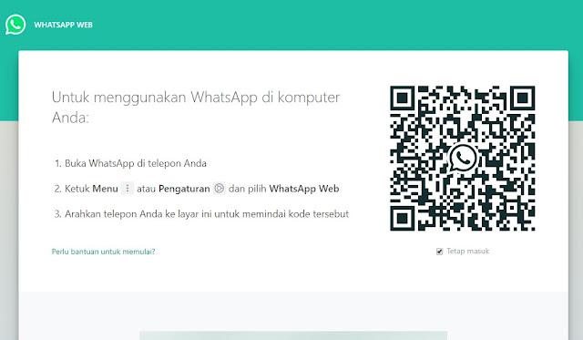 Cara Membuka WA (WhatsApp) di Browser Laptop 14