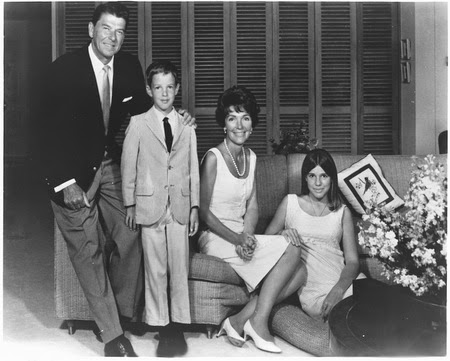 Patti Davis putri Presiden AS Ronald Reagen dan Nancy Reagan