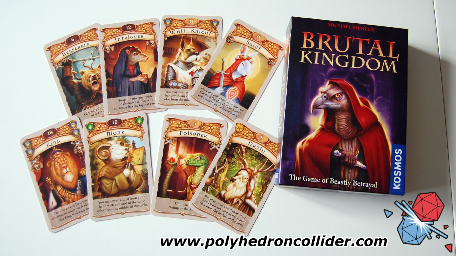 Brutal Kingdom card game review box
