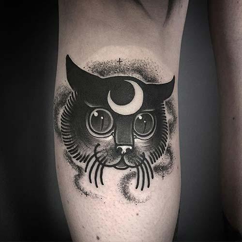 kedi dövmeleri cat tattoos 31