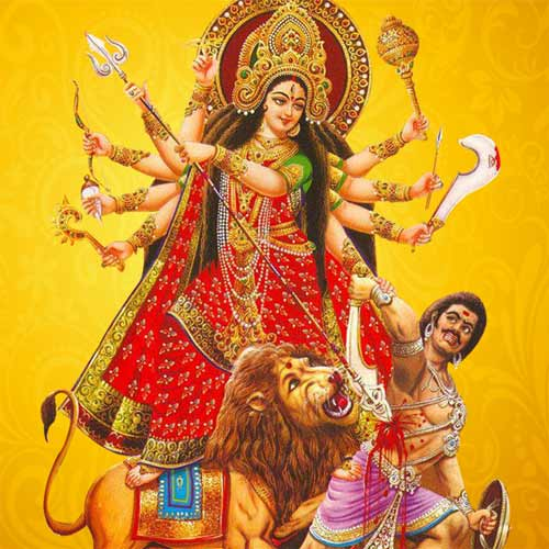 No Rituals - Worshipping Durga in the Mind