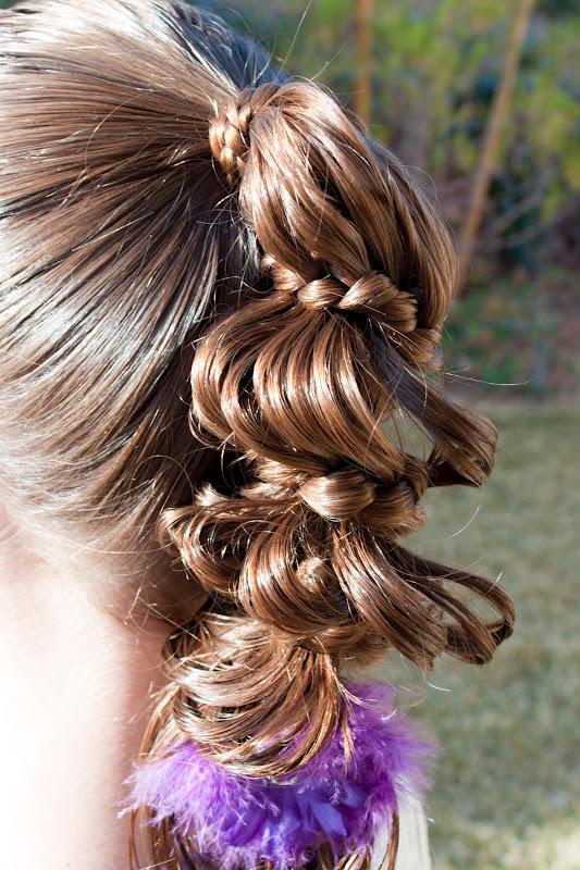 Amazing Princess Piggies Friday39S Film Carousel Braid Short Hairstyles Gunalazisus