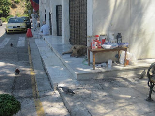 Entrance to First Cemetery of Athens.