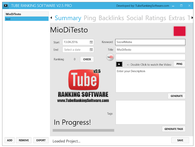 Youtube Ranking Software [GIVEAWAY]