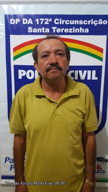 Resultado de imagem para Santa Terezinha, no Sertão de Pernambuco, onde o ex-vereador José Adone Batista de Brito, conhecido por Quitinga,