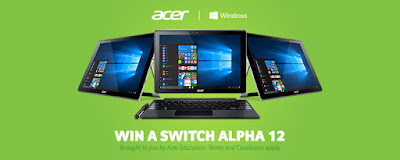 Steve Hargadon: Giving Away 5 Acer Switch Alpha 12 2-in-1 Laptops