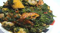 nigerian soup recipes,Edikang Ikong Soup, nigerian soup