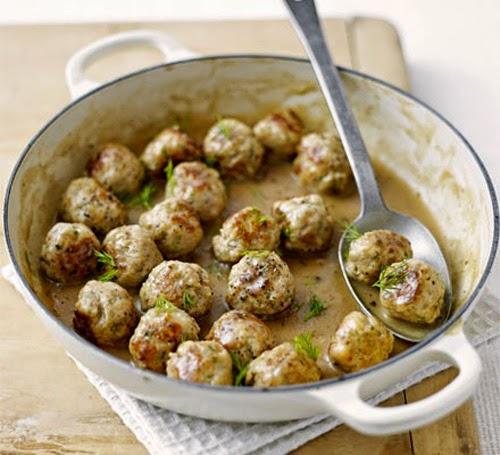 Mediterranean Kitchen Mastic: - Tuna Balls, Monastic Recipe