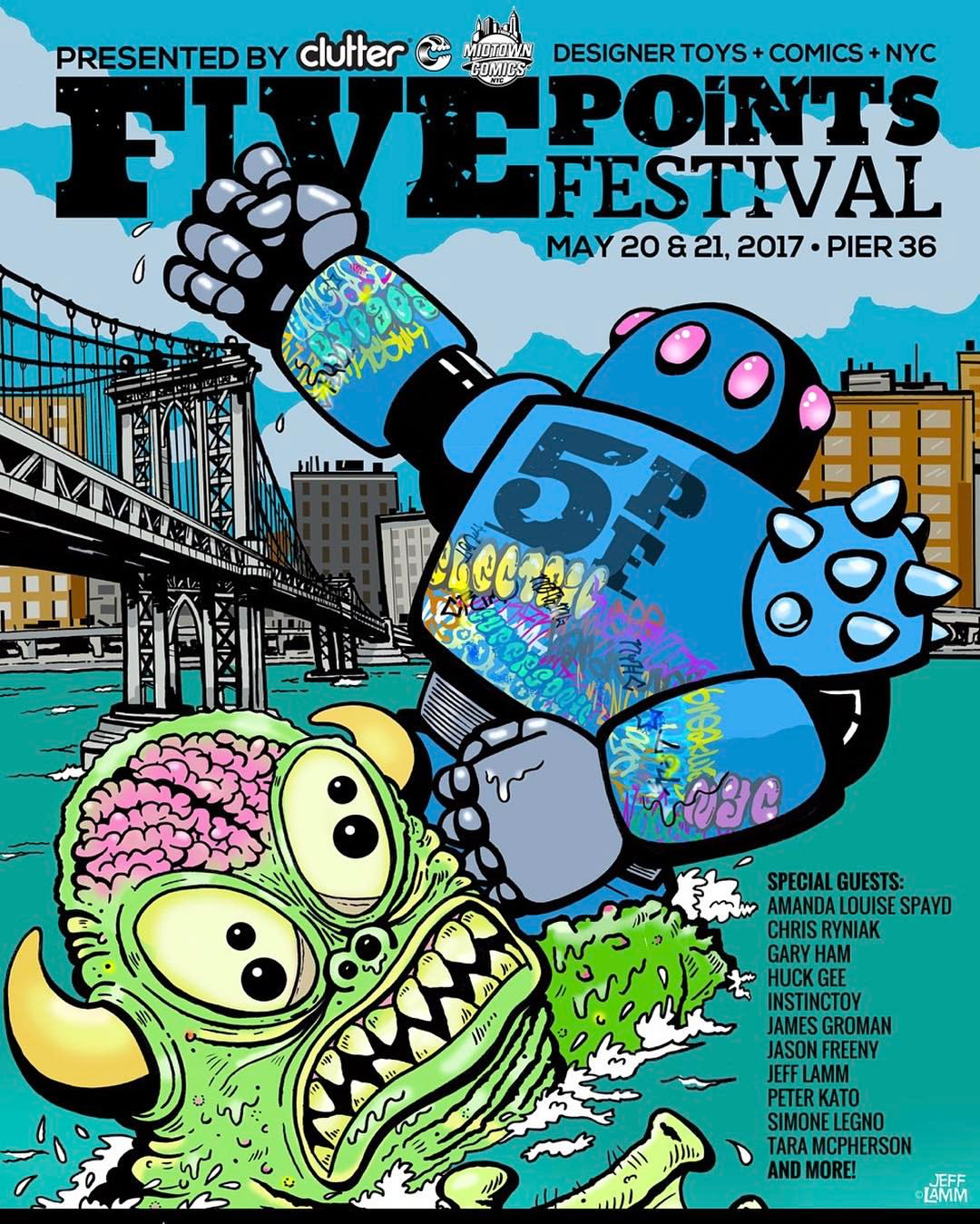 38e0be049ed9 FIVE POINTS FESTIVAL debuts in NYC May 20-21