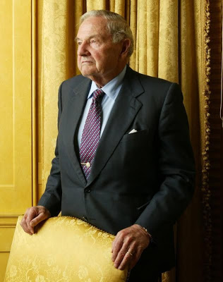 Billionaire philanthropist, David Rockefeller dies at age 101