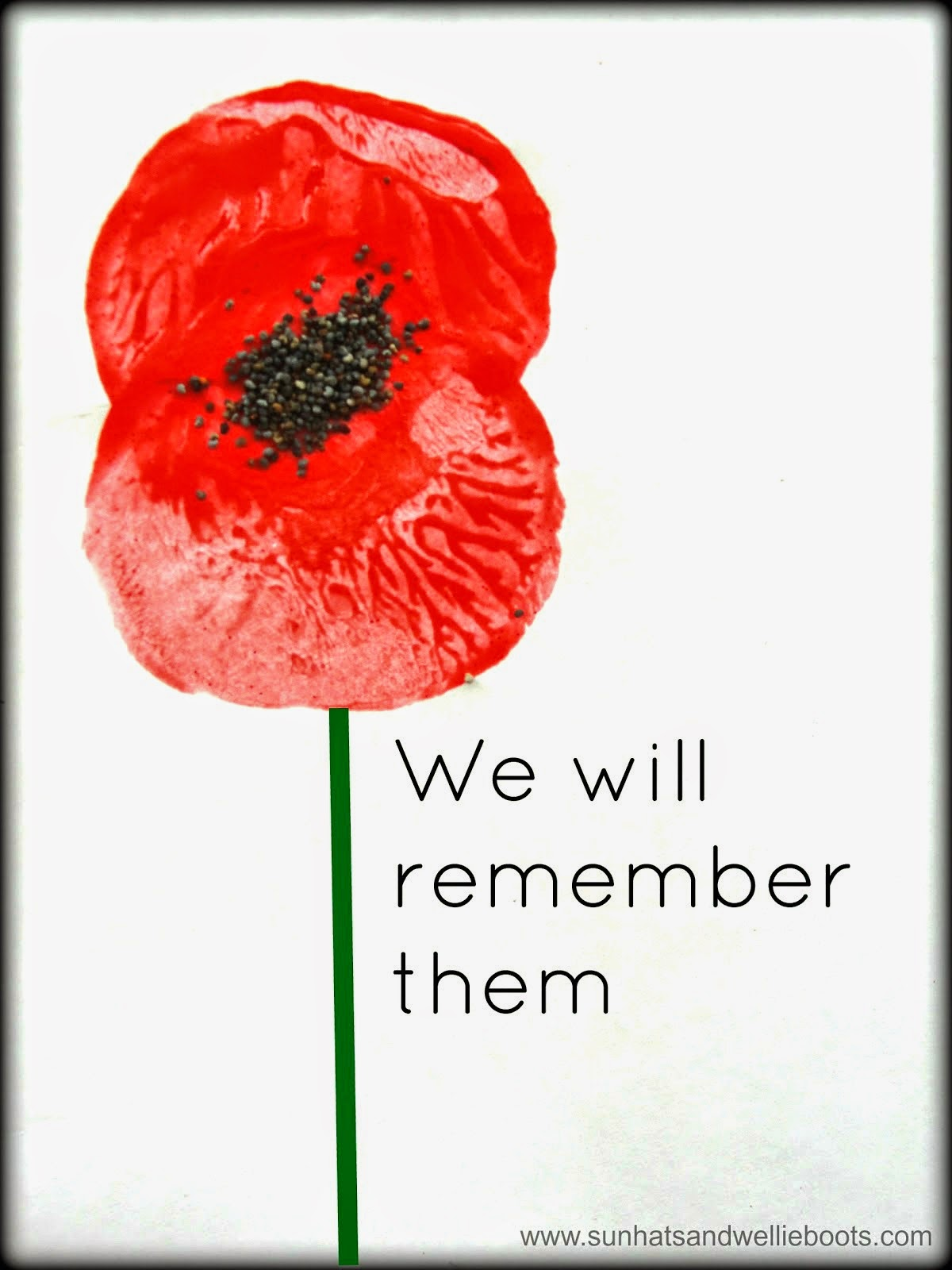 Craft Ideas For Remembrance Sunday