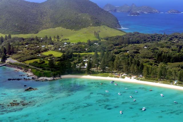 Lord Howe Island idyllisch Strand Ziel in Sicht Flugangst Traum Insel