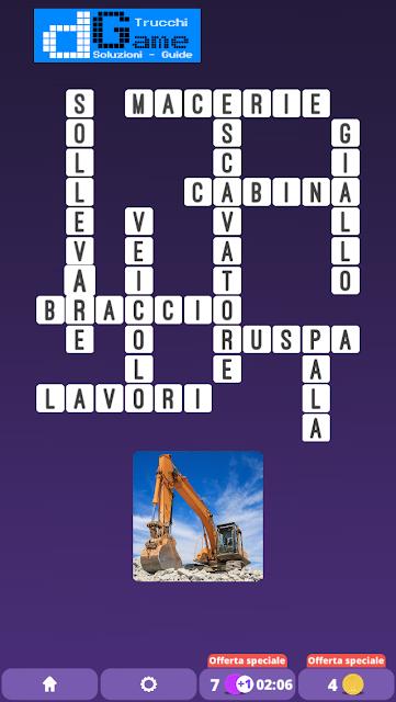 Soluzioni One Clue Crossword livello 8 schemi 7 (Cruciverba illustrato)  | Parole e foto