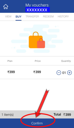 recharge other number using jio vouchers from My Jio app