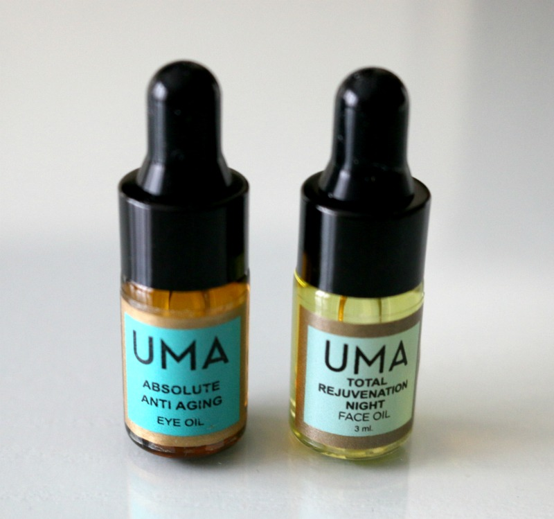 UMA Absolute Anti Aging Eye Oil Total Rejuvenation Night Face Oil