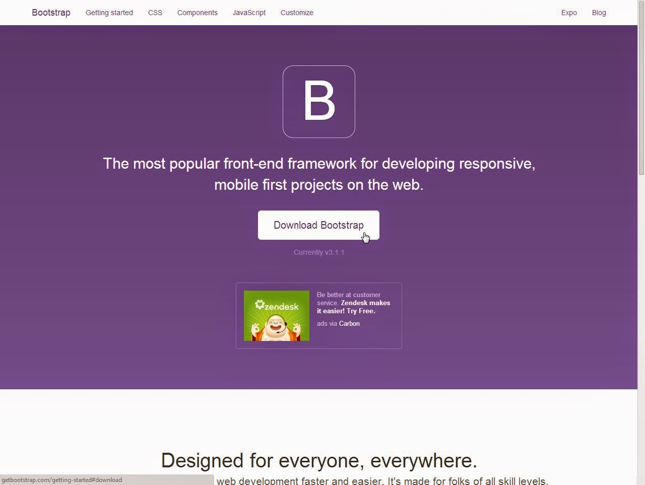 bootstrap 3.1