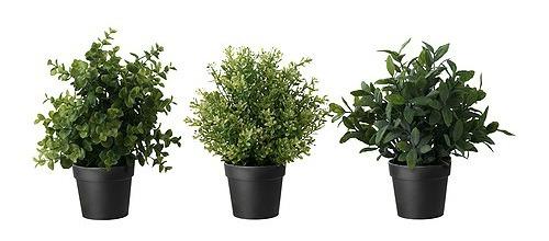 life like artifical plants from Ikea