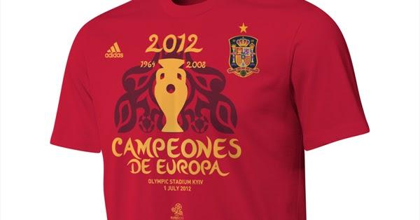 Perspicaz ideología Ahora  Camiseta Adidas Campeones de Europa. Camiseta conmemorativa selección  española Eurocopa 2012 - MENTE NATURAL DE MODA