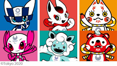 Photo of 2020 Tokyo Olympic Mascot candidates