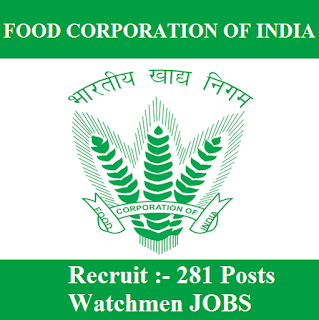 Food Corporation of India, FCI Rajasthan, FCI, FCI Recruitment, FCI Rajasthan Admit Card, Admit Card, fci rajasthan logo