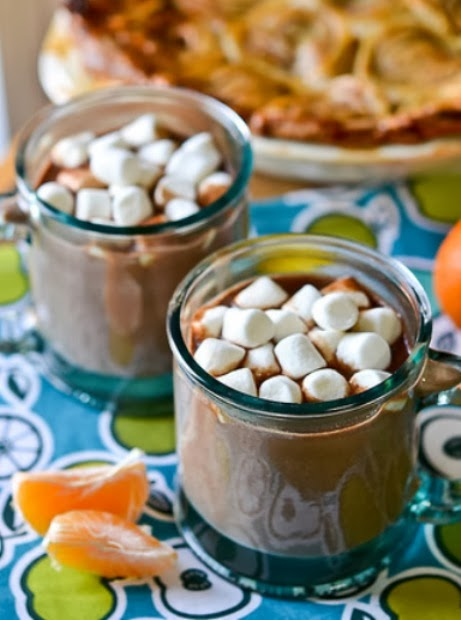 Best Chocolate Scented Flowers: The Bestest Recipes Online: Orange-Scented Hot Chocolate