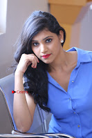 Telugu Actress Mounika UHD Stills in Blue Short Dress at Tik Tak Telugu Movie Audio Launch .COM 0162.JPG