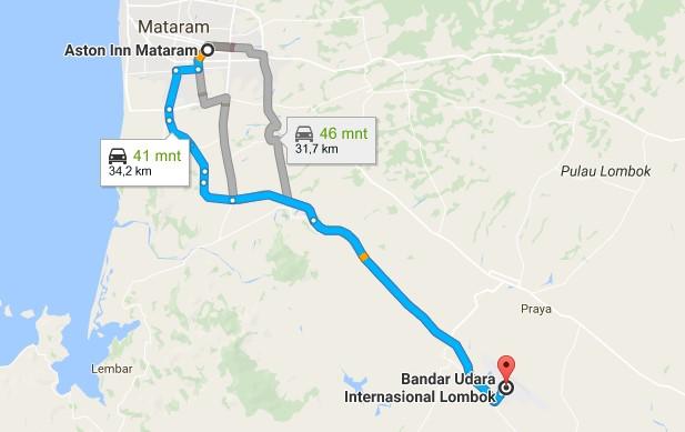 Percutian ke Lombok - Aston Inn Mataram Lombok