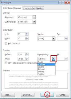 merupakan kegiatan menulis yang telah banyak dilakukan para pengguna komputer Cara Mengatur Spasi Tulisan di Microsoft Word 2007