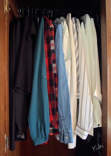 Guarda-roupa, camisas