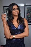 Sanjana looks happy in sparkling short Deep neck Purple Gown ~  Exclusive 36.JPG