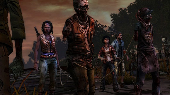 The Walking Dead Michonne Episode 1 - 3 PC Full Version Screenshot 3